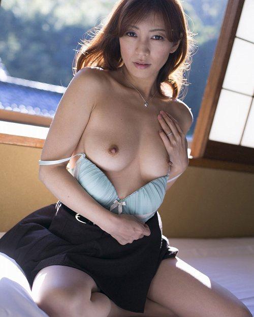 熟女ヌード 画像033