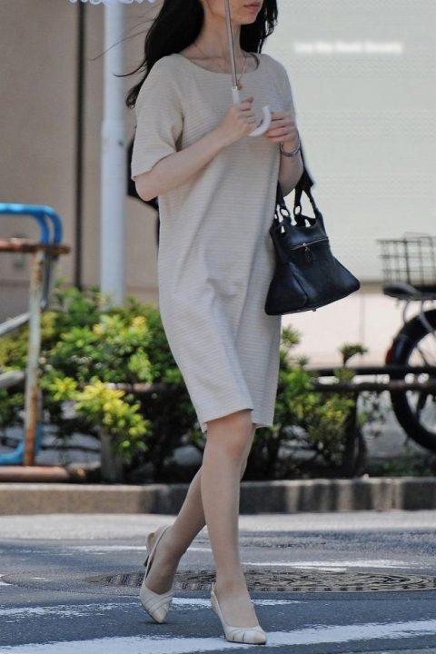 真夏の熟女街撮り 人妻熟女のむっちり着衣巨乳を街撮り!素人おばさんのシコれる ...