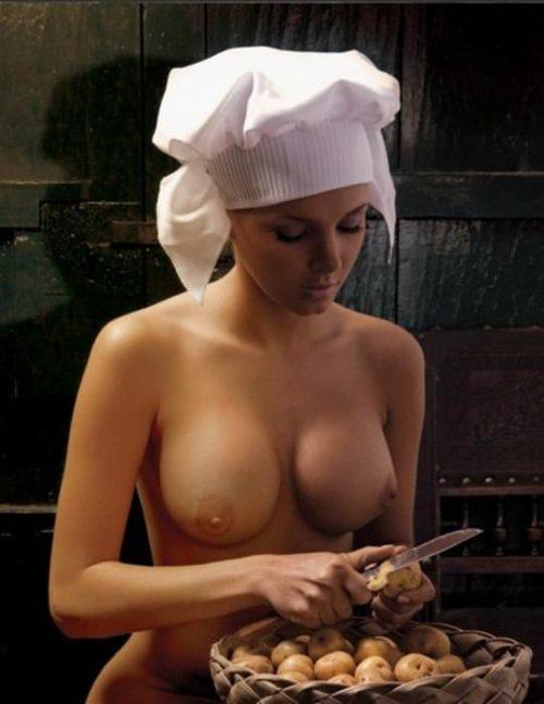 裸キッチン 画像067