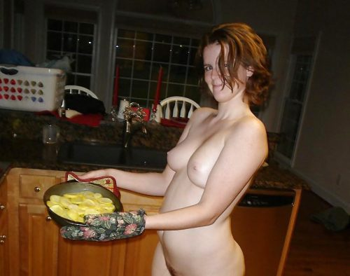 裸キッチン 画像082
