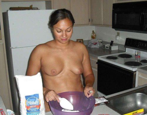 裸キッチン 画像094