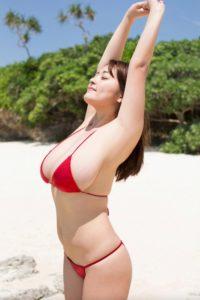 柳瀬早紀 ムッチリお姉さんの水着グラビアエロ画像307枚!