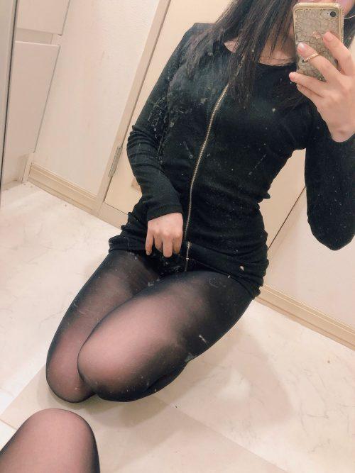 黒タイツ 画像012